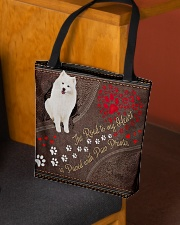 American-Eskimo-dog-the-road-to-my-heart All-over Tote aos-all-over-tote-lifestyle-front-02