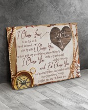 I Choose u To Do Life With Hand In Hand 14x11 Gallery Wrapped Canvas Prints aos-canvas-pgw-14x11-lifestyle-front-08