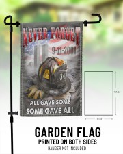 "Never Forget All Gave Some Some Gave All 11.5""x17.5"" Garden Flag aos-garden-flag-11-5-x-17-5-lifestyle-front-01"