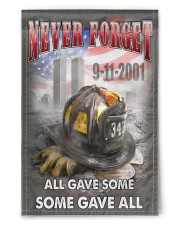 "Never Forget All Gave Some Some Gave All 11.5""x17.5"" Garden Flag front"