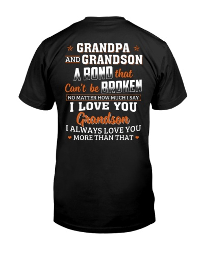 GP GS A Bond That Can't Be Broken - For Grandpa
