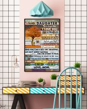 To My Daughter Never Forget That I Love You 11x17 Poster lifestyle-poster-6
