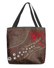 The Road To My Heart Custom name All-over Tote back