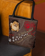 Pomeranian-dog-the-road-to-my-heart All-over Tote aos-all-over-tote-lifestyle-front-02
