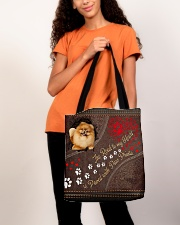 Pomeranian-dog-the-road-to-my-heart All-over Tote aos-all-over-tote-lifestyle-front-06