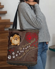 Pomeranian-dog-the-road-to-my-heart All-over Tote aos-all-over-tote-lifestyle-front-09
