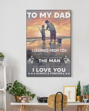So Much Of Me Is Made Fishing Son To Dad  20x30 Gallery Wrapped Canvas Prints aos-canvas-pgw-20x30-lifestyle-front-03
