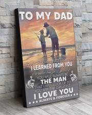 So Much Of Me Is Made Fishing Son To Dad  20x30 Gallery Wrapped Canvas Prints aos-canvas-pgw-20x30-lifestyle-front-20