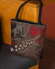 Neopolitan-Mastiff-dog-the-road-to-my-heart All-over Tote aos-all-over-tote-lifestyle-front-02