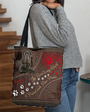 Neopolitan-Mastiff-dog-the-road-to-my-heart All-over Tote aos-all-over-tote-lifestyle-front-09