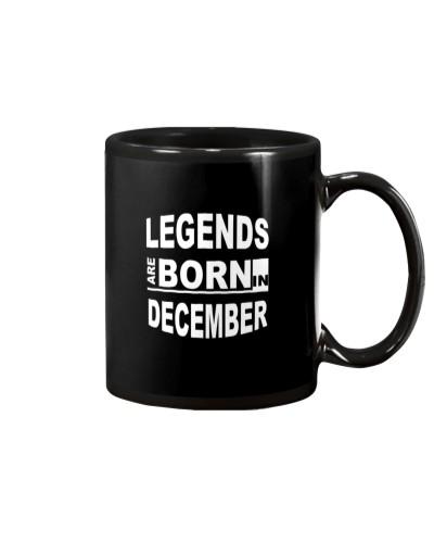 Legends are born in December