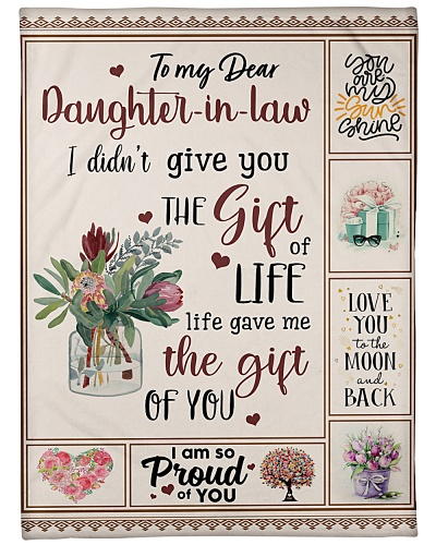 To My Daughter-In-Law Life Gave Me The Gift Of U
