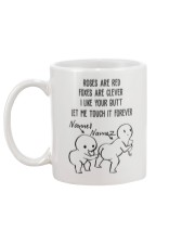 Personalized Name Butt let me touch it forever Mug back