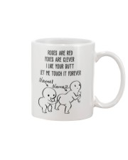Personalized Name Butt let me touch it forever Mug front