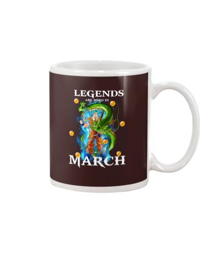 Dragon goku Legends are born in March