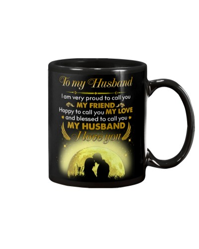 Husband Blessed To Call You My Husband I Love You