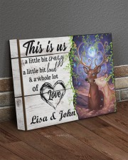 Personalized Name This Is US A Little Bit Crazy 14x11 Gallery Wrapped Canvas Prints aos-canvas-pgw-14x11-lifestyle-front-10