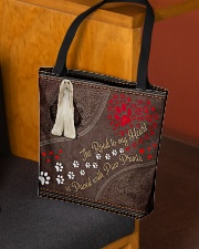 Afghan-Hound-dog-the-road-to-my-heart All-over Tote aos-all-over-tote-lifestyle-front-02