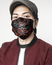 Skull 3d 2 Layer Face Mask - Single aos-face-mask-2-layers-lifestyle-front-08