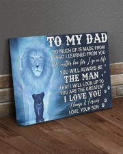 Much Of Is Made From What I Learned From U To Dad 14x11 Gallery Wrapped Canvas Prints aos-canvas-pgw-14x11-lifestyle-front-10