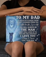 Much Of Is Made From What I Learned From U To Dad 14x11 Gallery Wrapped Canvas Prints aos-canvas-pgw-14x11-lifestyle-front-22