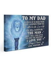 Much Of Is Made From What I Learned From U To Dad Gallery Wrapped Canvas Prints tile