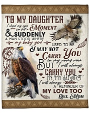 "I Close My Eyes For But A Moment Mom To Daughter Fleece Blanket - 50"" x 60"" front"