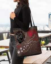 Scottish-Terrier-dog-the-road-to-my-heart All-over Tote aos-all-over-tote-lifestyle-front-04