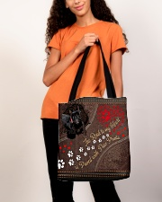 Scottish-Terrier-dog-the-road-to-my-heart All-over Tote aos-all-over-tote-lifestyle-front-06