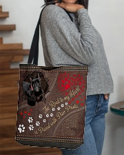 Scottish-Terrier-dog-the-road-to-my-heart All-over Tote aos-all-over-tote-lifestyle-front-09