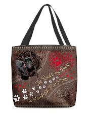 Scottish-Terrier-dog-the-road-to-my-heart All-over Tote back
