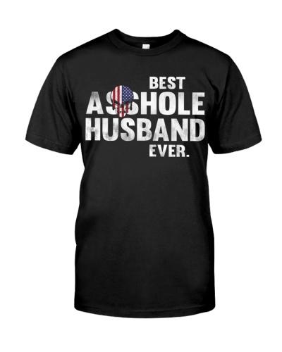 Skull American Best Asshole Husband Ever