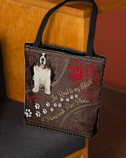 Pyrenean-Mastiff-dog-the-road-to-my-heart All-over Tote aos-all-over-tote-lifestyle-front-02