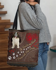 Pyrenean-Mastiff-dog-the-road-to-my-heart All-over Tote aos-all-over-tote-lifestyle-front-09