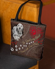 English-Setter-dog-the-road-to-my-heart All-over Tote aos-all-over-tote-lifestyle-front-02