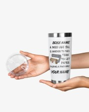 Personalized Name Boss Like You Is Harder to find 20oz Tumbler aos-20oz-tumbler-lifestyle-front-23