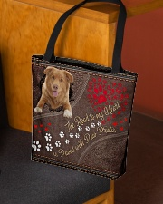 Nova-Scotia-Duck-Tolling-Retriever-dog-road All-over Tote aos-all-over-tote-lifestyle-front-02