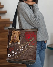 Nova-Scotia-Duck-Tolling-Retriever-dog-road All-over Tote aos-all-over-tote-lifestyle-front-09