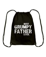 Best Grumpy Father Ever Drawstring Bag thumbnail