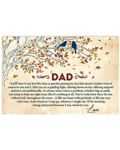 Dad I'll Be Standing Proud Coz I Was Raised By You
