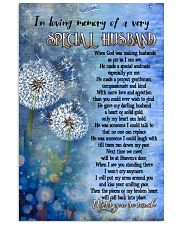 In Loving Memory Of A Very Special Husband 11x17 Poster thumbnail