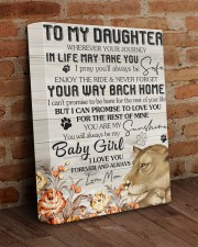 Wherever Your Journey In Life May Take To Daughter 11x14 Gallery Wrapped Canvas Prints aos-canvas-pgw-11x14-lifestyle-front-09
