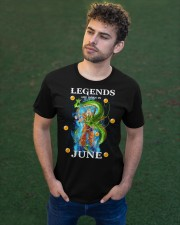 Dragon goku Legends are born in June Classic T-Shirt apparel-classic-tshirt-lifestyle-front-43