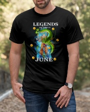 Dragon goku Legends are born in June Classic T-Shirt apparel-classic-tshirt-lifestyle-front-53