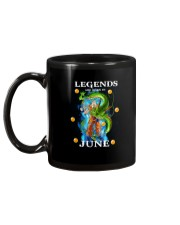 Dragon goku Legends are born in June Mug back