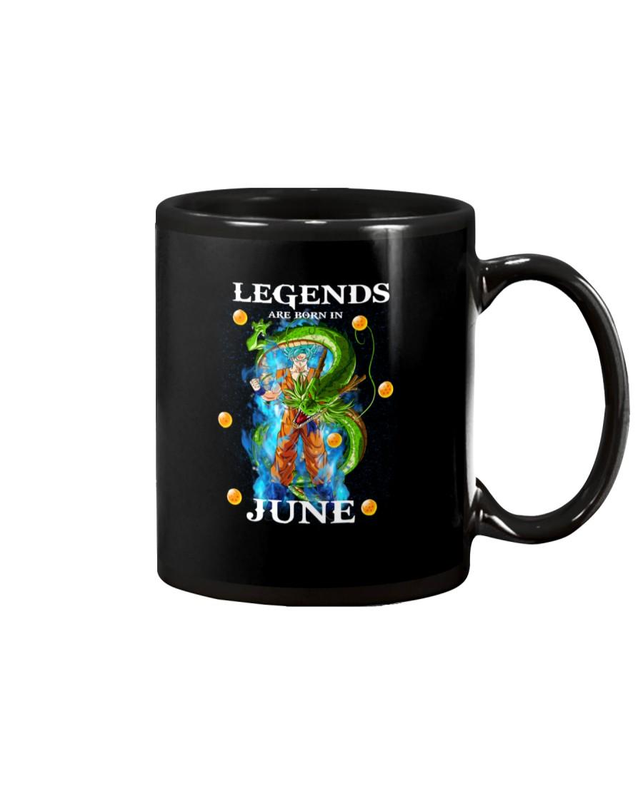 Dragon goku Legends are born in June Mug