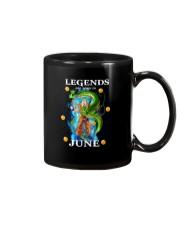 Dragon goku Legends are born in June Mug front