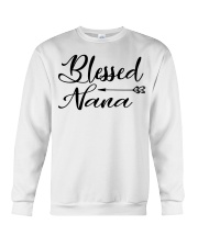 Blessed nana Crewneck Sweatshirt thumbnail