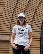 Blessed nana Ladies T-Shirt lifestyle-women-crewneck-front-4