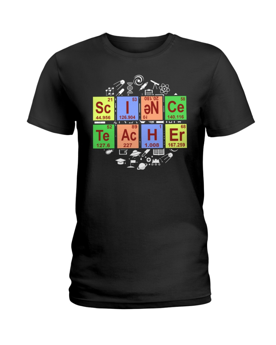 Limited Edition - Science Teacher Ladies T-Shirt